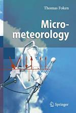 Micrometeorology af Thomas Foken