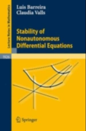Stability of Nonautonomous Differential Equations af Claudia Valls, Luis Barreira