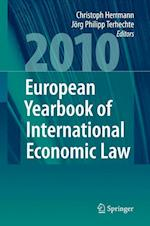 The European Yearbook of International Economic Law 2010 af Jorg Philipp Terhechte, Christoph Herrmann