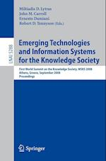 Emerging Technologies and Information Systems for the Knowledge Society (Lecture Notes in Computer Science, nr. 5288)