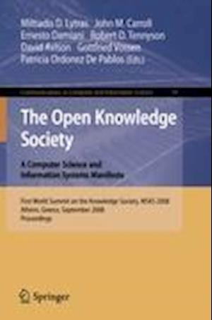 The Open Knowledge Society : A Computer Science and Information Systems Manifesto