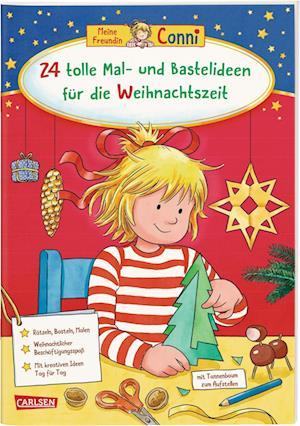 Conni Gelbe Reihe (Beschäftigungsbuch): 24 tolle Mal- und Bastelideen für die Weihnachtszeit