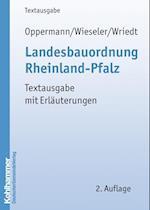 Landesbauordnung Rheinland-Pfalz (Kommunale Schriften Fur Rheinland Pfalz)