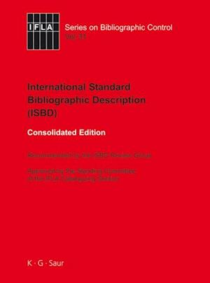 ISBD: International Standard Bibliographic Description