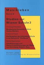 Studien Zur Wiener Schule 2 (European University Studies Series V Economics and Managem, nr. 6)