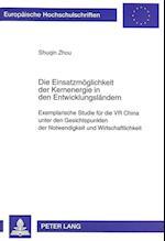 Die Einsatzmoeglichkeit Der Kernenergie in Den Entwicklungslaendern (Europaische Hochschulschriften Reihe V Volks Und Betriebs, nr. 2278)
