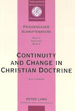 Continuity and Change in Christian Doctrine (Friedensauer Schriftenreihe, nr. 2)
