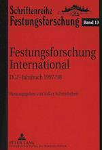 Festungsforschung International (European University Studies Series XXVIII History of Art, nr. 13)