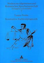 Kontrastive Fachtextpragmatik (Studien Zur Allgemeinen Und Romanischen Sprachwissenschaft, nr. 7)
