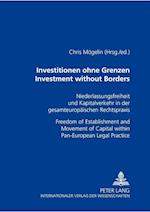 Investitionen Ohne Grenzen- Investment Without Borders