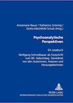 Psychoanalytische Perspektiven