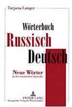 Woerterbuch Russisch-Deutsch