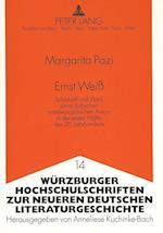 Ernst Weiss (Weurzburger Hochschulschriften Zur Neueren Deutschen Literat, nr. 14)
