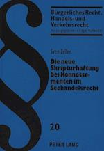 Die Neue Skripturhaftung Bei Konnossementen Im Seehandelsrecht (Beurgerliches Recht Handels Und Verkehrsrecht, nr. 20)