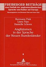 Anglizismen in Der Sprache Der Neuen Bundeslaender