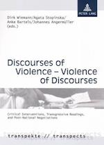 Discourses of Violence - Violence of Discourses af Dirk Wiemann