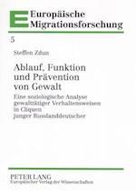 Ablauf, Funktion Und Praevention Von Gewalt