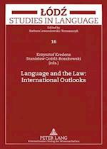 Language and the Law (Odz Studies in Language, nr. 16)