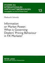 Information or Market Power (Studien Zu Internationalen Wirtschaftsbeziehungen, nr. 13)