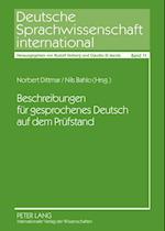 Beschreibungen Fuer Gesprochenes Deutsch Auf Dem Pruefstand