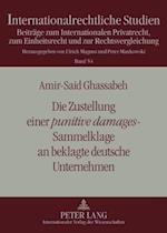 Die Zustellung Einer Punitive Damages-Sammelklage an Beklagte Deutsche Unternehmen (Internationalrechtliche Studien, nr. 54)
