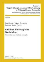 Children Philosophize Worldwide af Eva Marsal