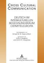 Deutsch Im Interkulturellen Begegnungsraum Ostmitteleuropa