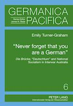 Never Forget That You Are A German (Germanica Pacifica)