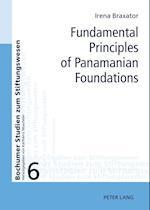 Fundamental Principles of Panamanian Foundations (Bochumer Studien zum Stiftungswesen, nr. 6)