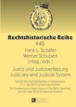 Justiz Und Justizverfassung- Judiciary and Judicial System (Rechtshistorische Reihe, nr. 446)