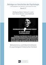 Behaviorismus Und Erkenntnistheorie Im Psychologisch-Historischen Kontext