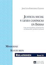 Justicia Social y Leyes Canonicas En Indias (Moderne Kulturen Relationen, nr. 21)