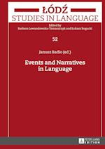 Events and Narratives in Language (Lodz Studies in Language)