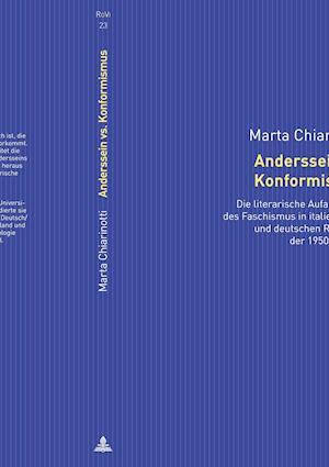 Bog, hardback Anderssein vs. Konformismus af Marta Chiarinotti