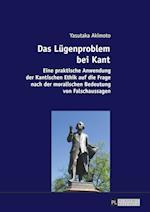 Das Luegenproblem Bei Kant