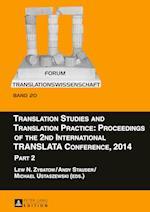 Translation Studies and Translation Practice (Forum Translationswissenschaft, nr. 20)