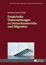 Empirische Untersuchungen Zu Deutschunterricht Und Migration (Beitraege Zur Literatur Und Mediendidaktik, nr. 35)