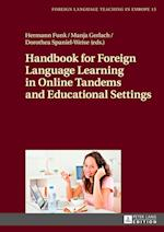 Handbook for Foreign Language Learning in Online Tandems and Educational Settings (Foreign Language Teaching in Europe, nr. 15)
