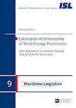 Estimation of Uncertainty of Wind Energy Predictions (Maritime Logistik Maritime Logistics, nr. 9)