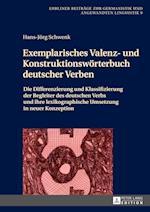 Exemplarisches Valenz- Und Konstruktionsworterbuch Deutscher Verben (Lubliner Beitraege Zur Germanistik Und Angewandten Linguistik)