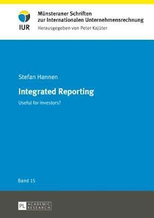 Bog, hardback Integrated Reporting af Stefan Hannen