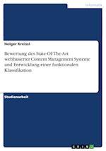 Bewertung Des State-Of-The-Art Webbasierter Content Management Systeme Und Entwicklung Einer Funktionalen Klassifikation