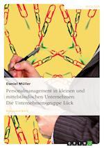 Personalmanagement in Kleinen Und Mittelstandischen Unternehmen af Daniel M Ller, Daniel Muller
