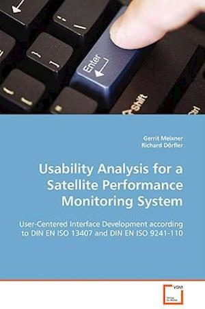 Usability Analysis for a Satellite Performance Monitoring System