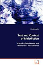 Text and Context of Malediction af Nicole Asquith