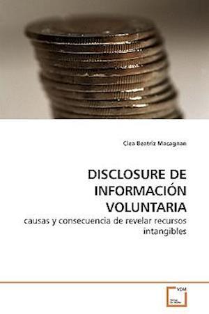 DISCLOSURE DE INFORMACIÓN VOLUNTARIA