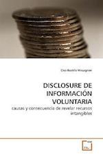 DISCLOSURE DE INFORMACIÓN VOLUNTARIA af Clea Beatriz Macagnan