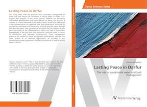 Lasting Peace in Darfur
