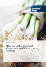 Change in the Chemical Composition of Onion during Storage