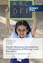 Human Resource Development in Perspective of Primary Level Education